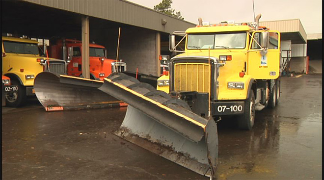 County gets snow plows ready December 17