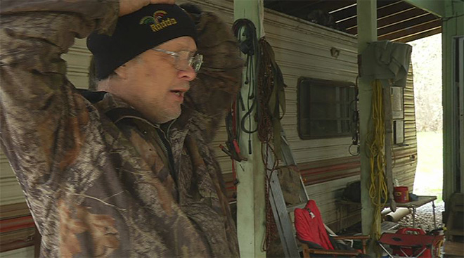 County tells caretaker in RV to leave (4)