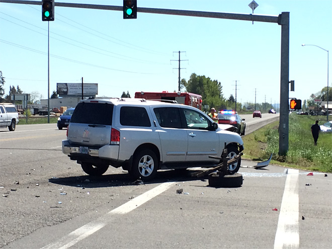State police investigating crash at Prairie and Hwy 99