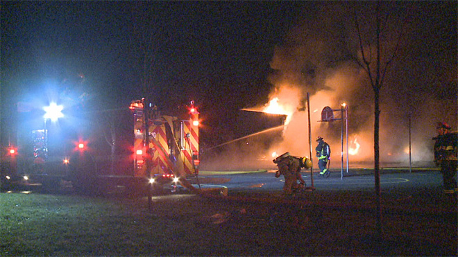 Crestline Elementary School fire (1)