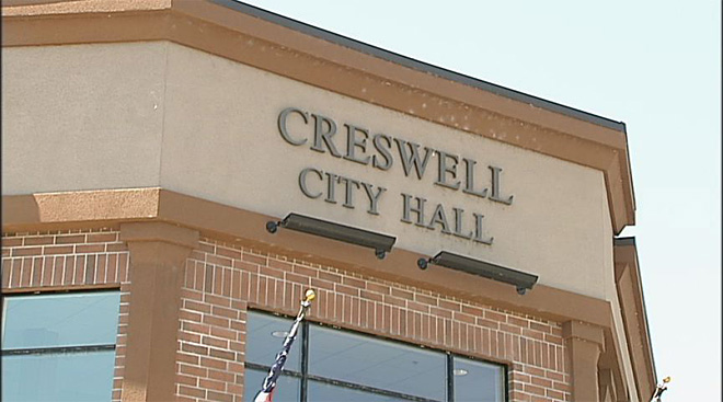 Creswell city hall 2