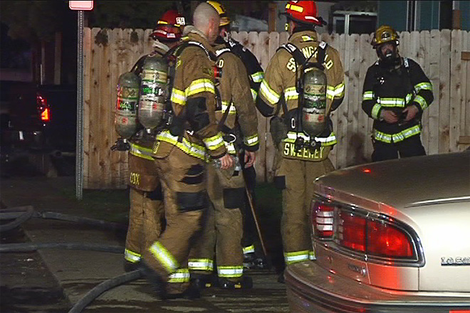 Springfield house fire displaces family, no injuries