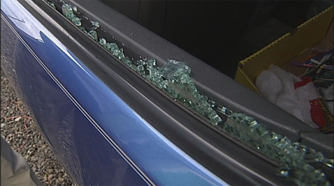 Soldier cars trashed: 'I got real angry and I still am'