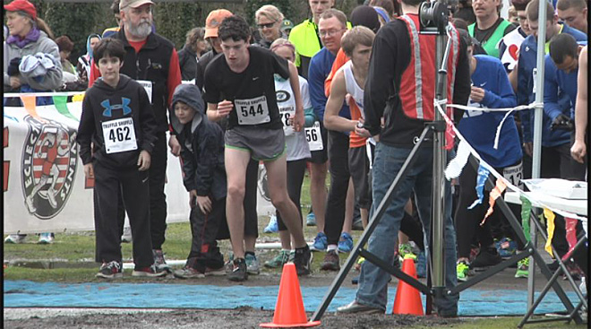 Hundreds turn out for Truffle Shuffle after snow setback
