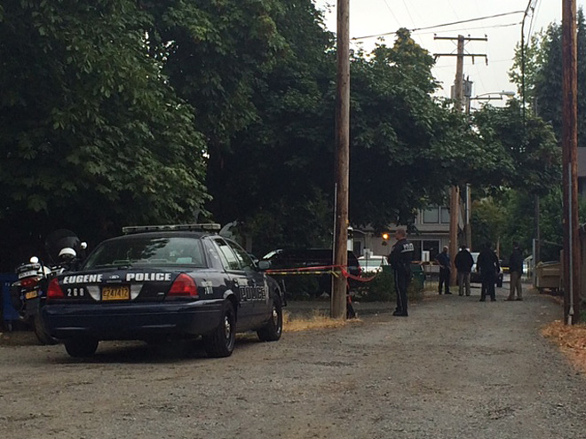 Death investigation near 6th and Lawrence - 01