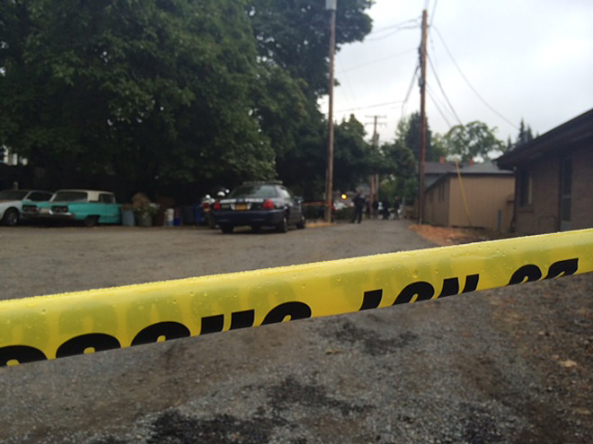 Death investigation near 6th and Lawrence - 02