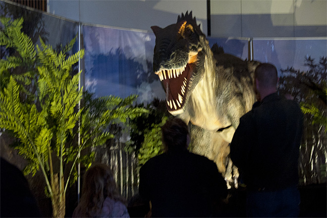 Dinos come to life at Lane Events Center - Photo by Tristan Fortsch