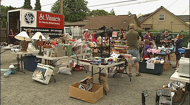 Dive for a Cure Yard Sale