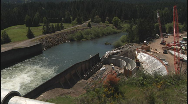 Dorena Dam hydroelectric project (1)