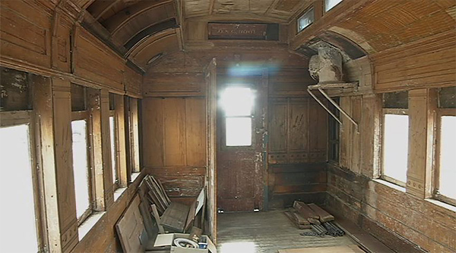 Grant to help restore O&C railcar at museum