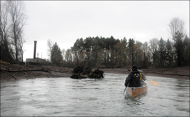 Dredged channel helps clear water for Corvallis