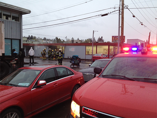 Dryer Fire evacuates south Eugene Laundromat