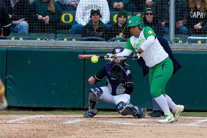 Top-ranked Oregon softball team hosts regional tournament