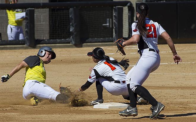 Ducks defeat Beavers 10-5 in Corvallis - 02 - Oregon News Lab Photo