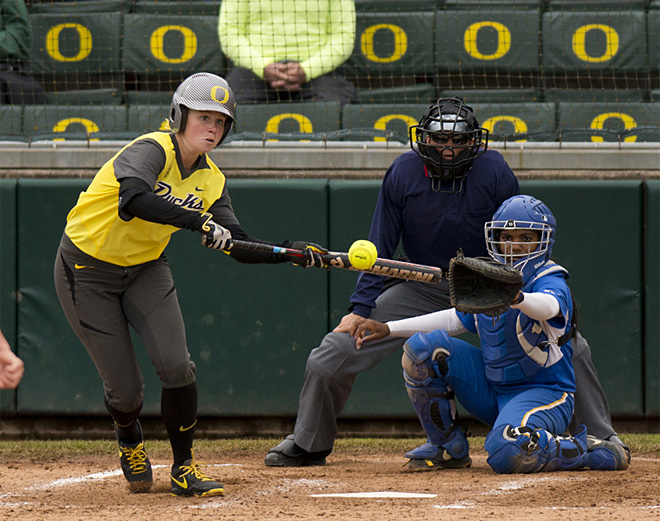 Ducks take down UCSB in two game series - 16