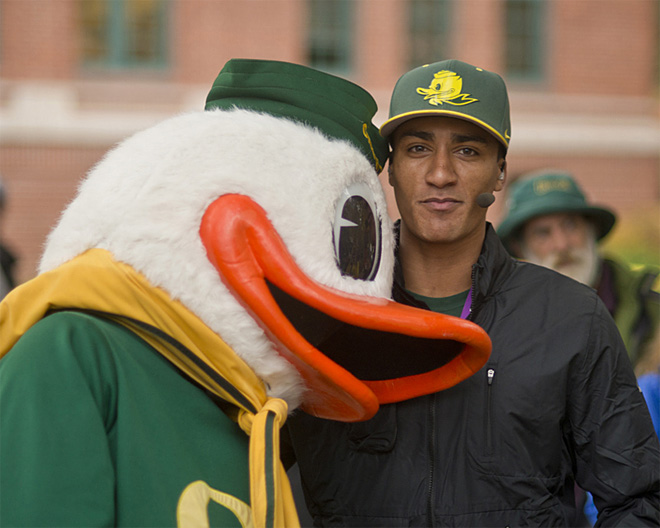 ESPN College GameDay visits the UO campus - Oregon News Lab