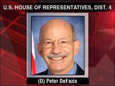 DeFazio holds off Robinson to win re-election