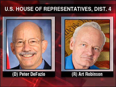 Robinson edges DeFazio in 2nd-quarter fundraising