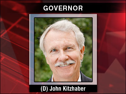Governor of Oregon: Democrat John Kitzhaber
