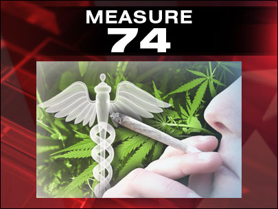 Oregon's Measure 74 vs. California's medical pot dispensary law