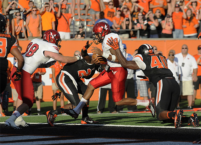 E Washington Oregon St Football