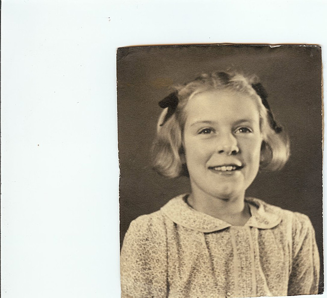Elizabeth about 10 years old
