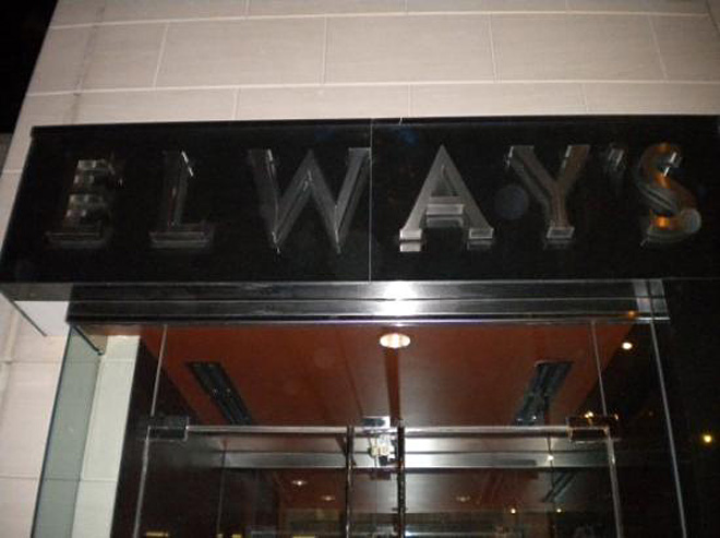 Elway's Downtown in Denver, Colorado