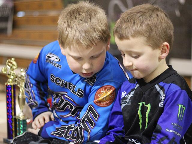 Emerald Valley BMX indoor racing