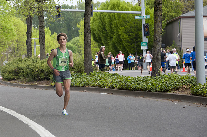 Eugene Marathon 2013 -  Photo by Tristan Fortsch/KVAL.com Staff