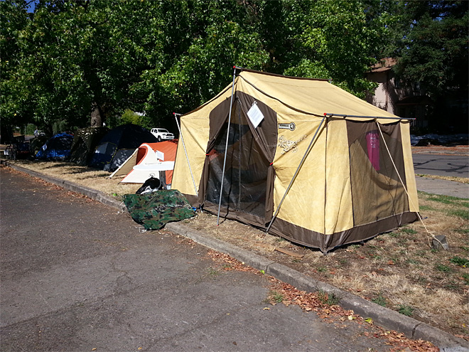 Eugene SLEEPS protest camp at Lane County Fairgrounds (4)