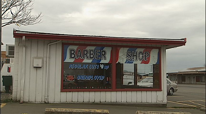 Eugene barbershop torn apart: 'I can get through this one'