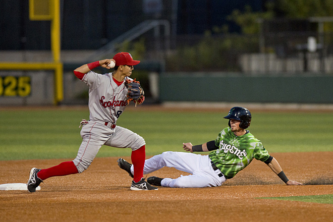 Eugene Ems beat Spokane Indians 3-2: 'The cards fell the right way'