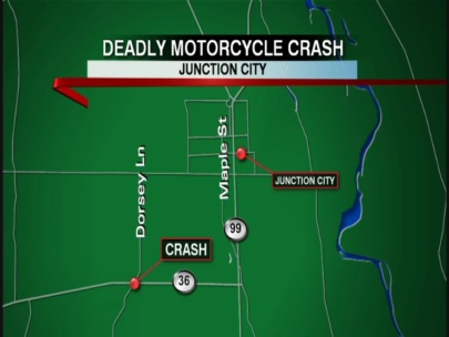 Junction City man dead after motorcycle crash