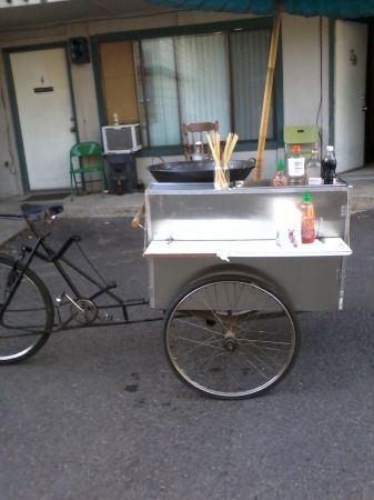 Food car bike stolen