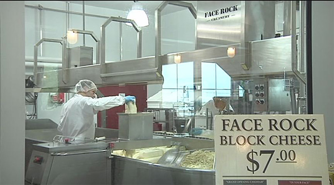 New Bandon creamery sends cheese to stores across the state
