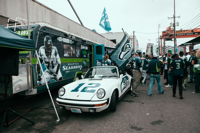Fans show up big in win over the 49ers