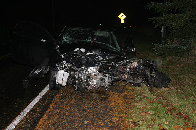 Fatal crash near Estacada