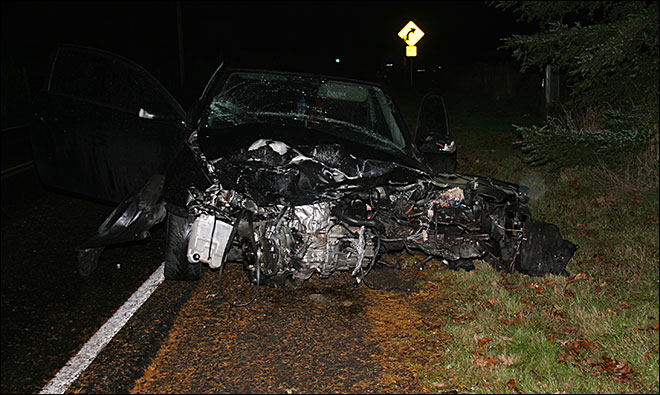 One dead, one injured in head-on crash near Estacada