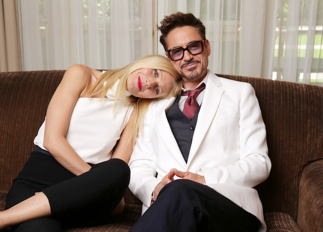 Gwyneth Paltrow and Robert Downey Jr. have the most adorable friendship