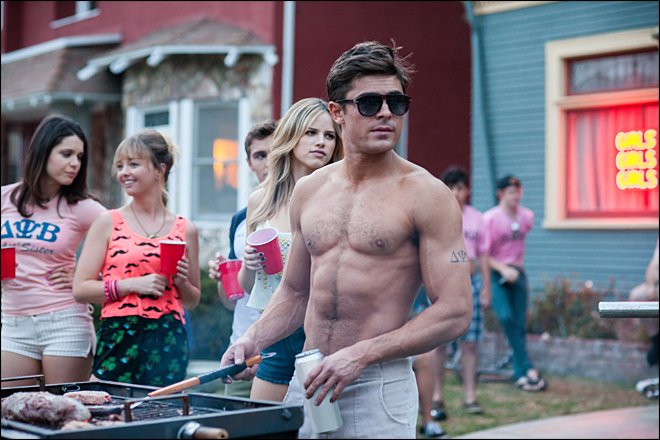 'Neighbors' unseats Spidey to top box office