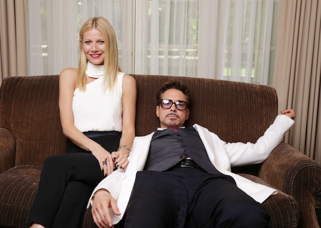 Downey and Paltrow