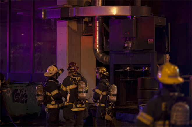 Embers spark fire in vent system of UO's Lawrence Hall
