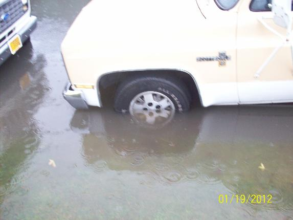 Flooding in Springfield on January 19