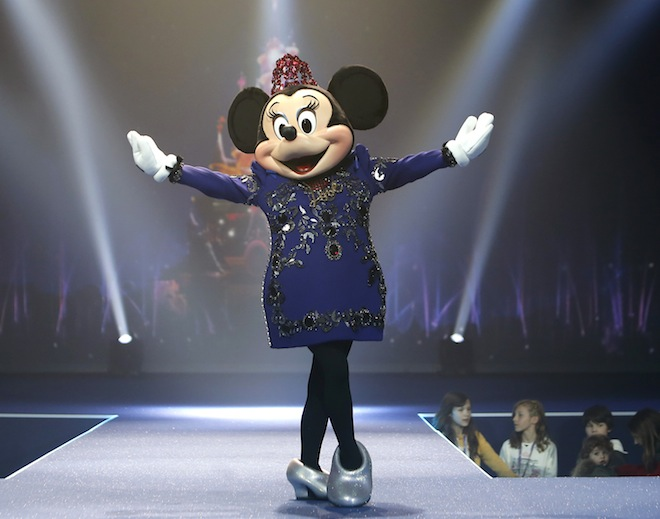 Minnie Mouse ditches the polka dots for a new look from Lanvin