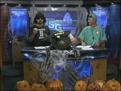 High School Gameday: Halloween Spooktacular &#39;10 - Part 1