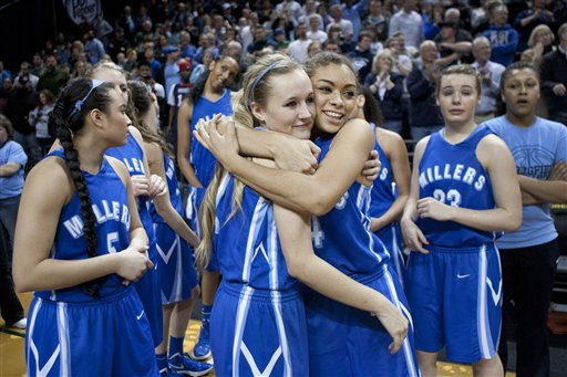 Video: Reaction to 'stall ball' in 5A title game