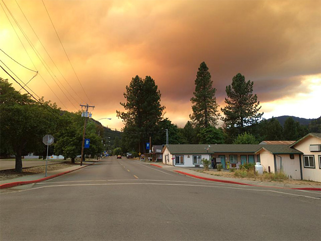 Glendale Ore. - Photo from Dave Rayann Wytcherley Woodley