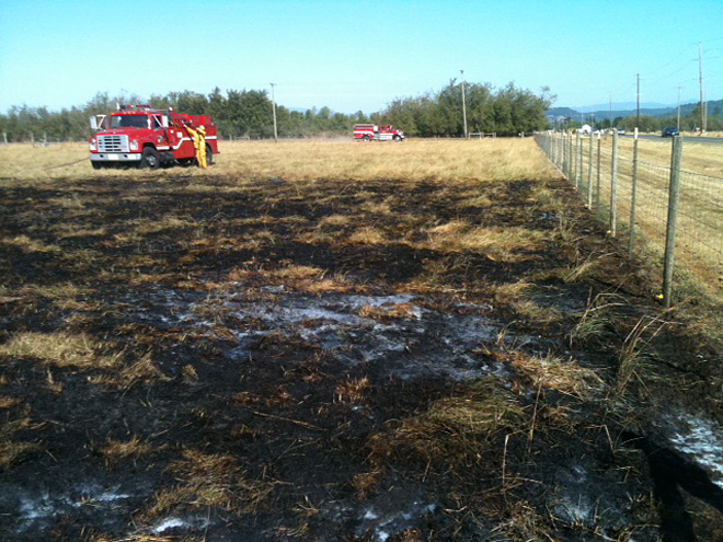Grass fire near Lebanon August 22 (1)