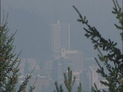 Eugene or LA? 'The air quality changed overnight'