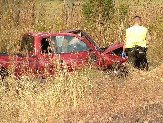 Head-on crash closes road south of Roseburg